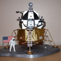 Revell Apollo Lunar Module Eagle scale model
