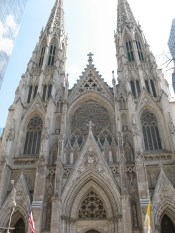 Saint Patrick's Cathedral on 5th Avenue
