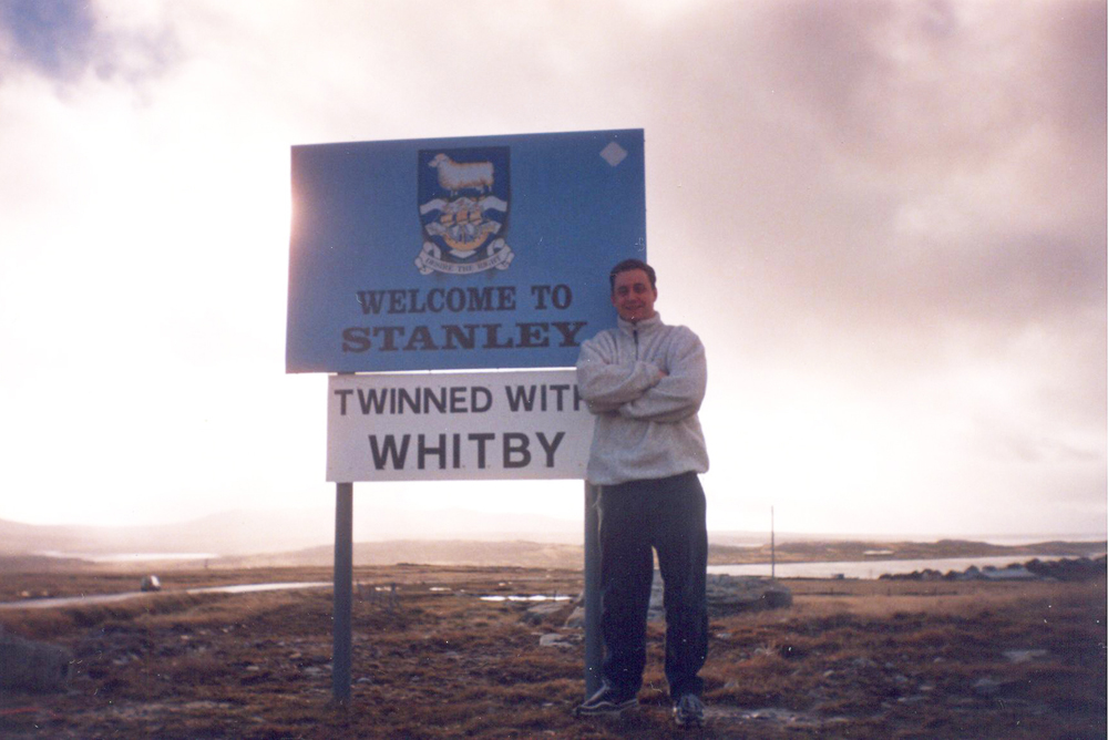 Port Stanley, Falkland Islands. April(ish) 2000.