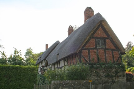 Anne Hathaway's cottage in Shottery.