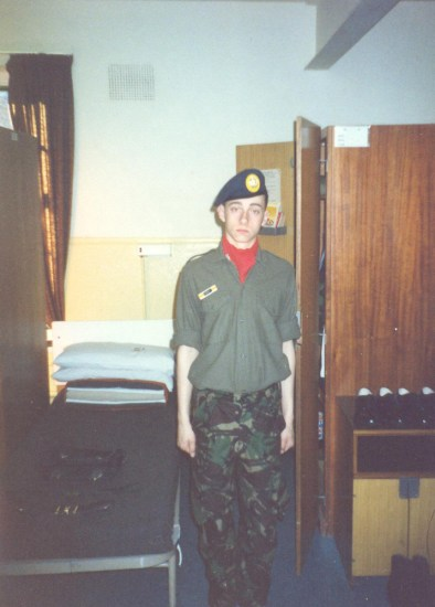 I was young once. No. 10 Flight, RAF basic training at RAF Swinderby June-August 1988.