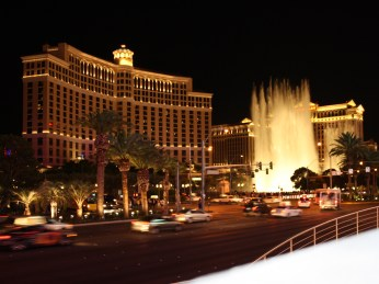 Bellagio and its Fountains. Pity it played Celine Dion as the accompanying music.