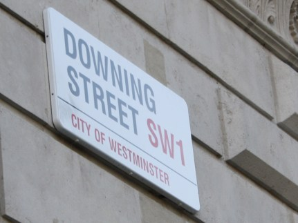 Downing Street. Obviously.