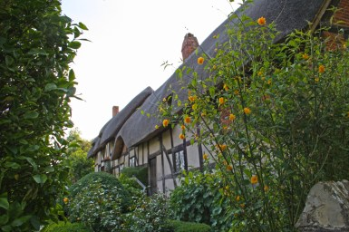 Anne Hathaway's cottage in Shottery