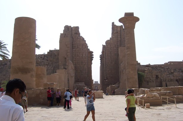 Karnak is a massive open air museum.
