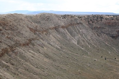 Meteor Crater Wall