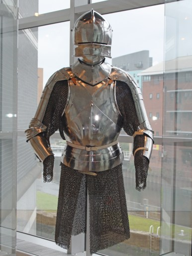 Milanese partial armour
