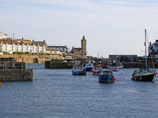 Portleven inner harbour