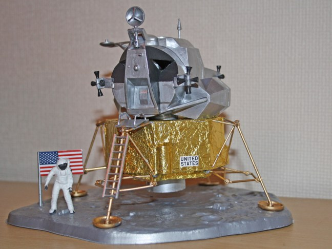 Revell Lunar Module Eagle scale model