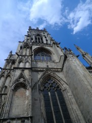 Western tower at York Minster