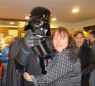 """Randomly went up to people saying """"No, I am your Father"""""""