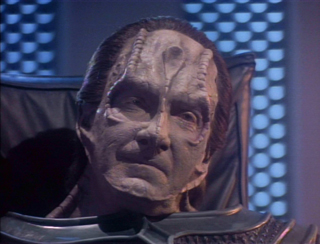 As the Cardassian Gul Madred in Star Trek TNG