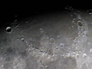 Mare Imbrium Basin. Single DSLR shot.