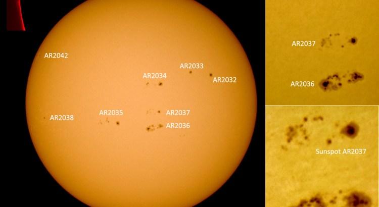 Solar summary 16 April 2014