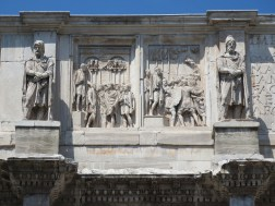 Carvings on the Arch of Constantine.