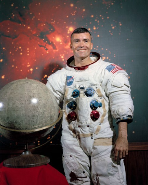 Astronaut Fred W. Haise