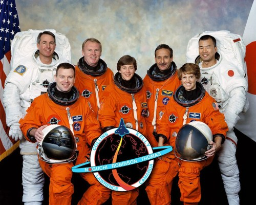 The crew of STS-114