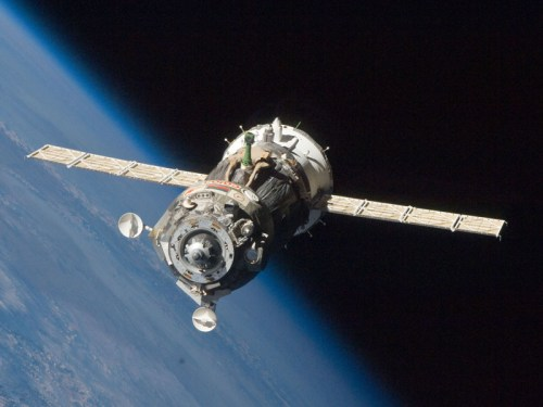 Soyuz on route to the ISS