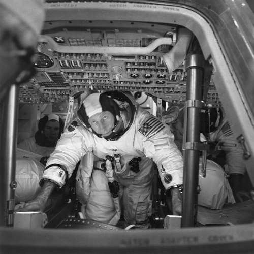 Al Worden Command Module Pilot, Apollo 15.