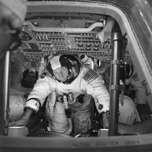 Al Worden Command Module Pilot, Apollo 15.