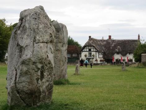 Avebury village