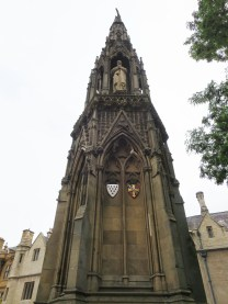 Martyrs' Memorial with statues of Thomas Cranmer, Nicholas Ridley and Hugh