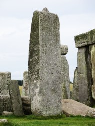The tallest stone at Stonehenge.