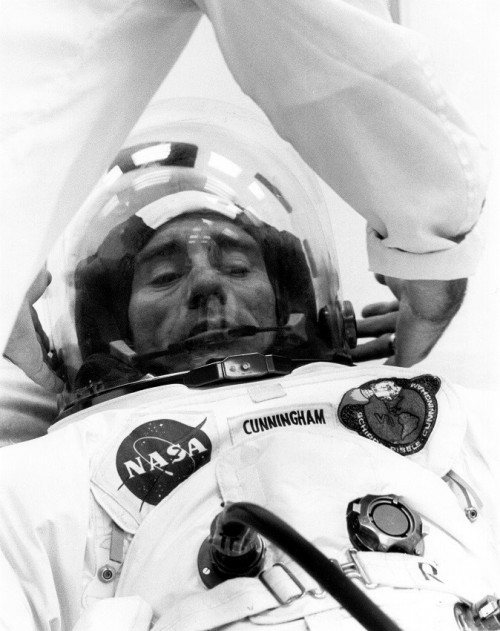 Apollo 7 astronaut Walt Cunningham