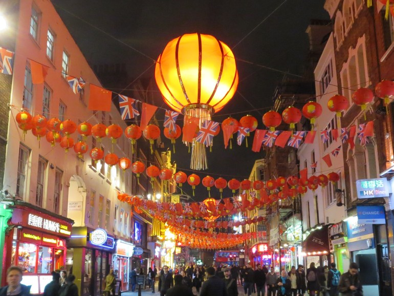 London's China Town