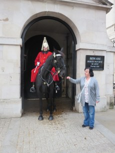 Sam and the Horse Guards