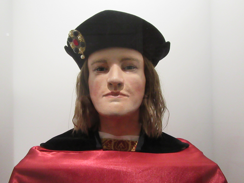 Facial reconstruction of the King in the car park Richard III