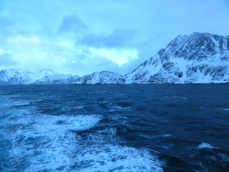Beautiful and remote Norwegian fjords