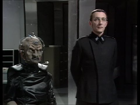 Davros and Nyder - Doctor Who, Genesis of the Daleks