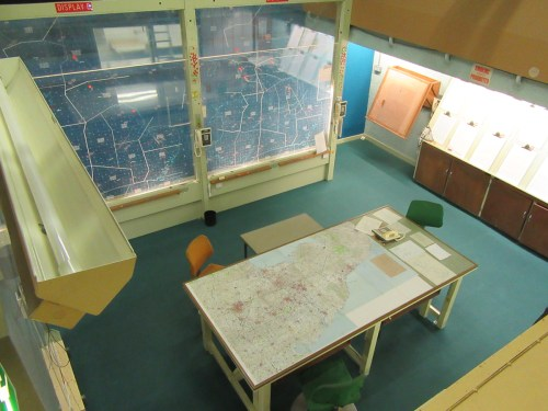 Cold war bunker Operations Room