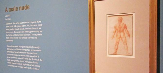 Leonardo da Vinci drawings at Nottingham Castle
