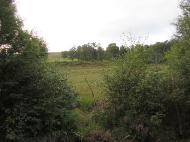 Maol Ruadh where the highlanders executed a classic highland charge
