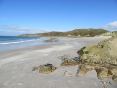 Camusdarach where Connor MacLeod feels The Quickening with Sean Connery in Highlander