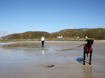 Sam and Nelson at Morar