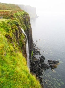 Mealt Waterfall at Kilt Rock