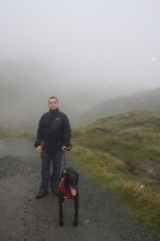 An old man at the Old Man if Storr