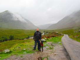 Clearly, I am James Bond. Skyfall at Glen Etive