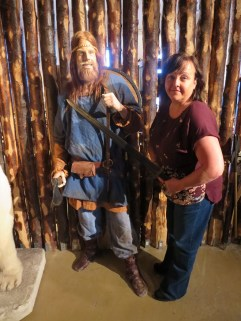 Shiledmaiden Sam at the Saga Museum