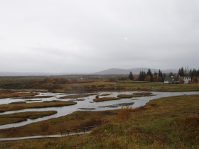 The view towards the Eurasian tectonic plate
