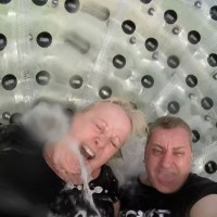 Zorbing in Nottingham - It's How We Roll....