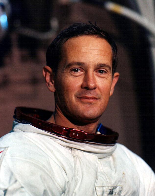 Charles Moss Duke Jr, Astronaut.