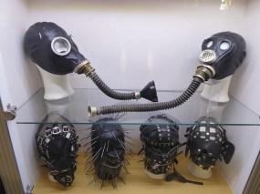 Prague sex machines museum BDSM masks