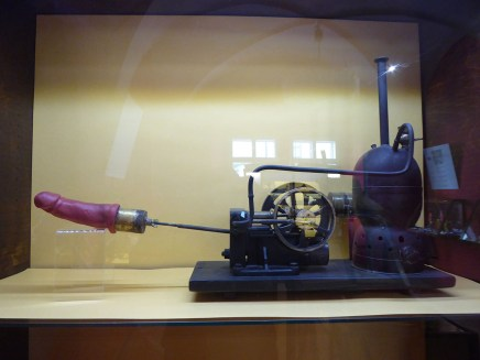 Steam Vibrator at Prague Sex Machine Museum