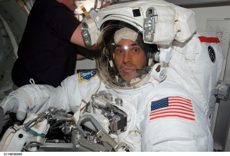 Mission Specialist Rick Mastracchio