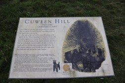 Cuween Hill Cairn Information-Board