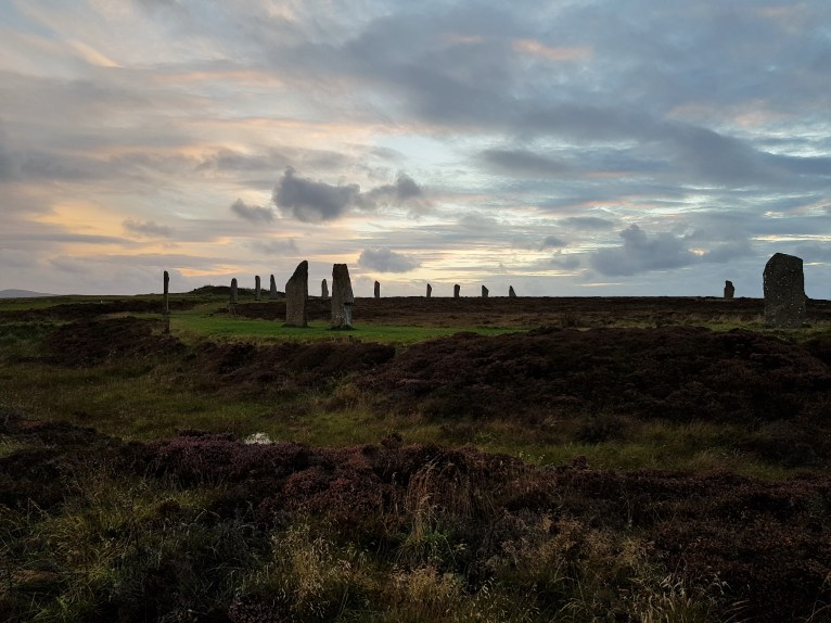 Sunset at the Ring of Brodgar